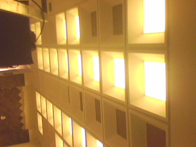 白色柔性透光膜吊顶材料图片