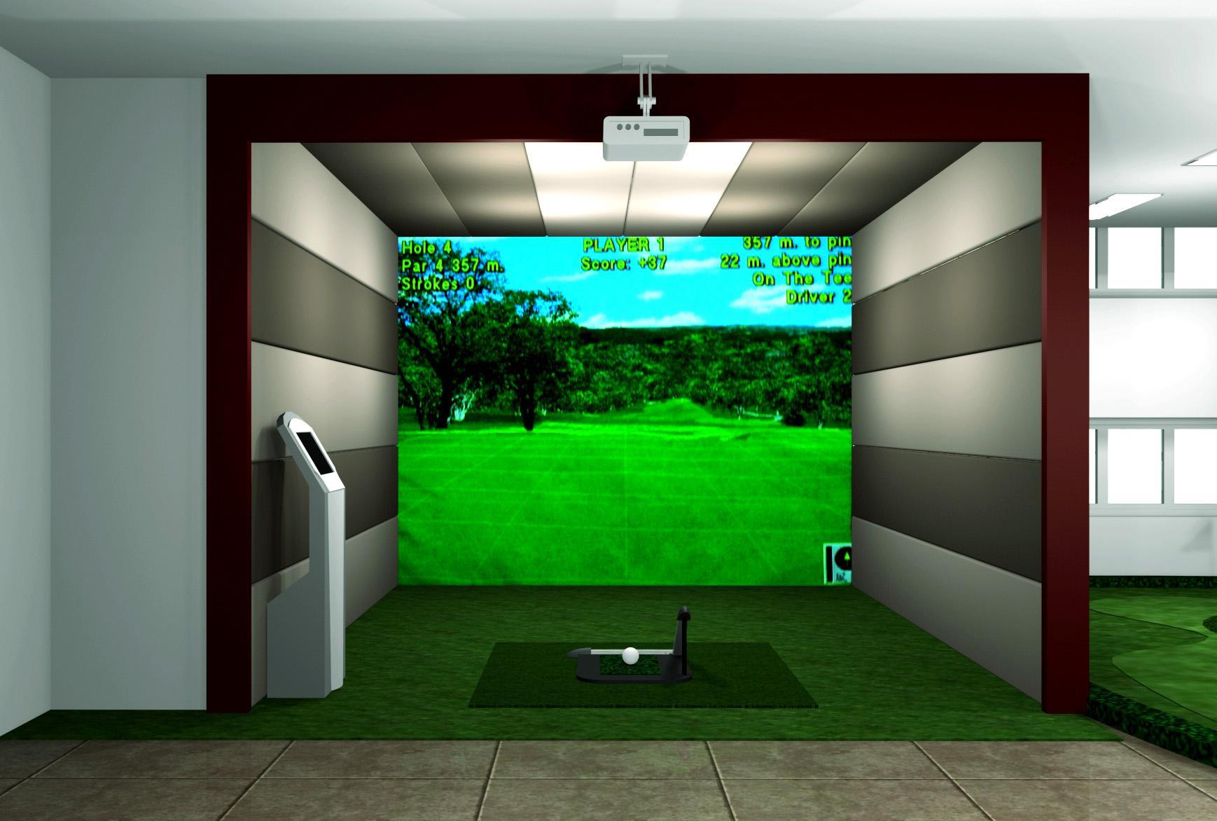 供应高尔夫模拟器生产图片