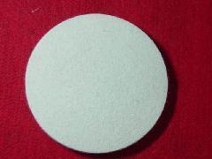 供应圆形背胶绒布垫