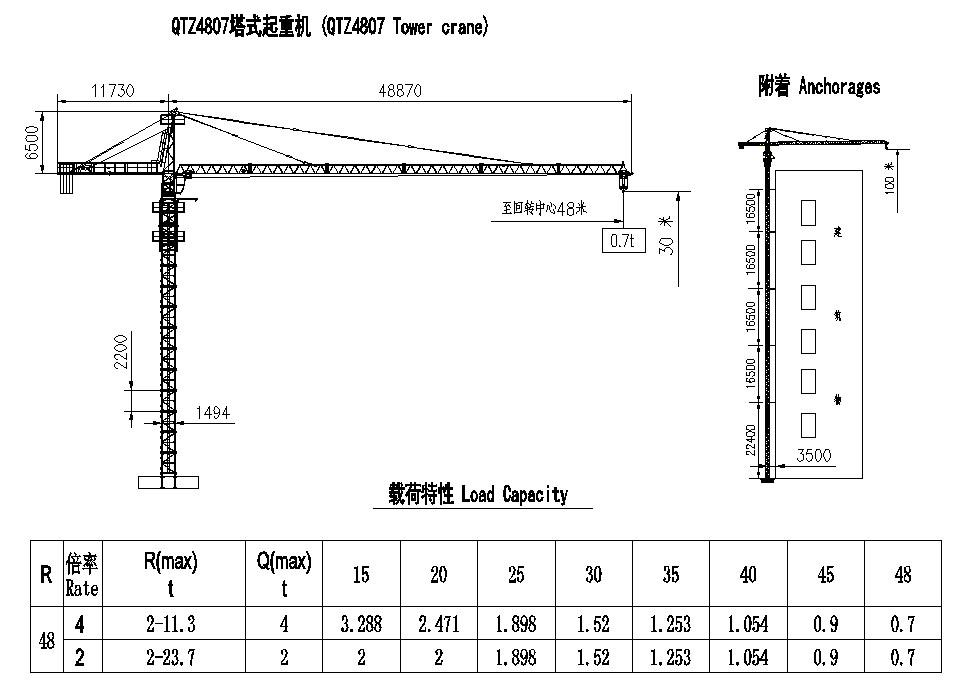 qtz40(4807)塔式起重机