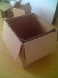 供應防潮浸蠟重型蔬菜包裝箱