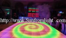 舞台灯具视频地板砖