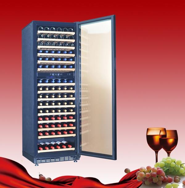 酒柜酒架; 供应红酒柜实木红酒架; 供应红酒柜实木红酒架带锁1米8高