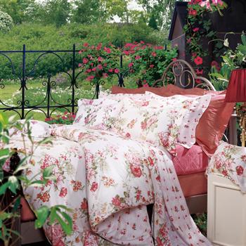 富安娜四件套月笼花影