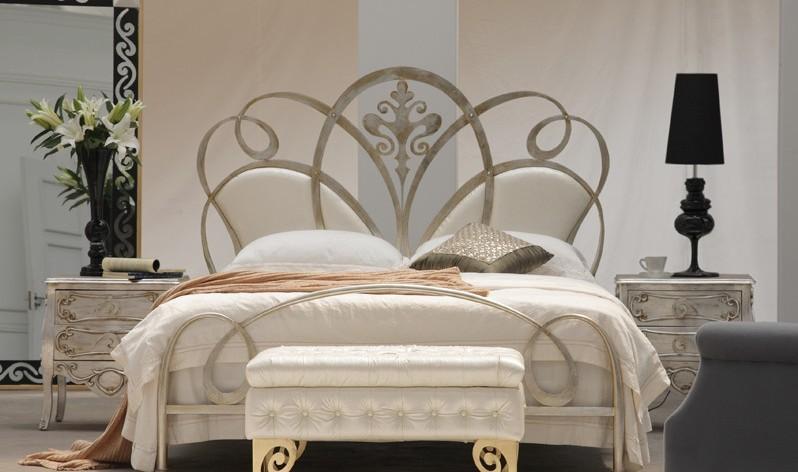 铁艺大床-欧式公主床图片|铁艺大床-欧式公主床样板
