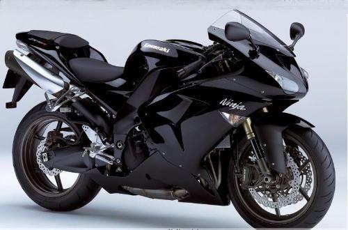 摩托车跑车川崎