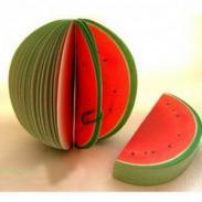 创意水果便签-温州金乡水果便签厂图片