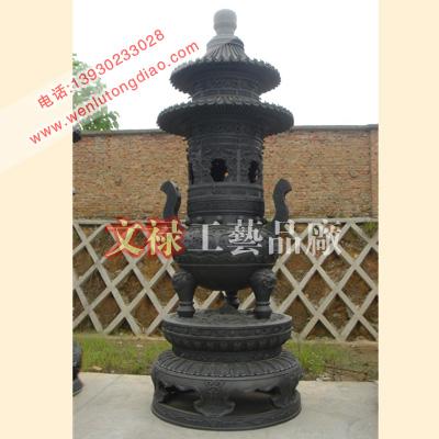 供应铜香炉,铸铜香炉,寺庙铜香炉,香炉生产厂家,塔炉