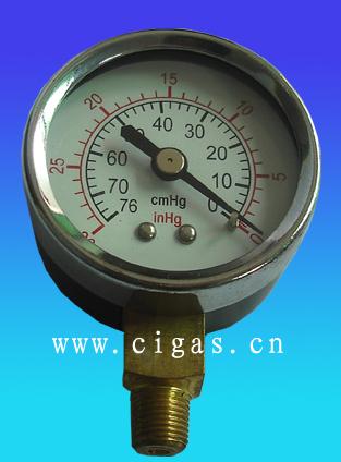 耐震径向轴向真空压力表图片/耐震径向轴向真空压力表样板图