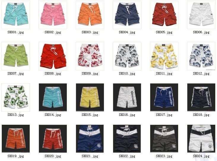 供应AF美国原单最新男式款沙滩裤批发