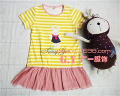 供应乖巧可爱的夏季儿童雪纺连衣裙批发时尚又可爱的夏季儿童连衣裙批发