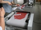 供应新疆哈密瓜葡萄干烘干杀菌微波设备图片