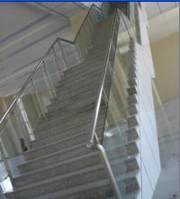 江西不锈钢玻璃楼梯、不锈钢玻璃楼梯价格、不锈钢玻璃楼梯定制