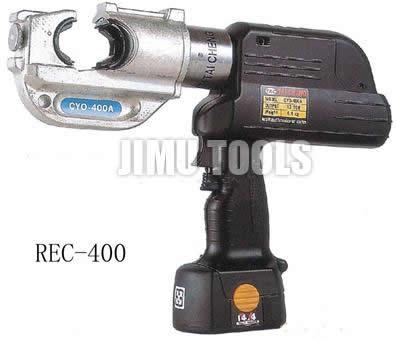 供应C型口充电式液压钳REC-40