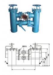 供应雙桶切換過濾器