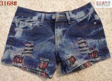 2011新款女式牛仔裤  做旧牛仔裤 显瘦牛仔裤批发中山牛仔裤