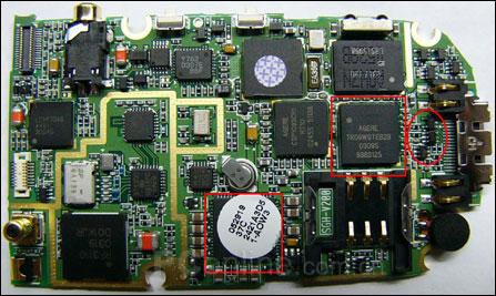 三星c5000主板电路图