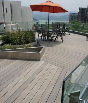 供应户外防水仿实木生态木地板
