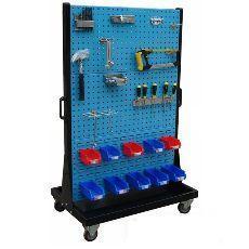 物料整理架掛板掛鉤零件盒