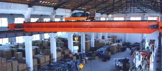 供应安徽安庆LD型电动单梁起重机图片