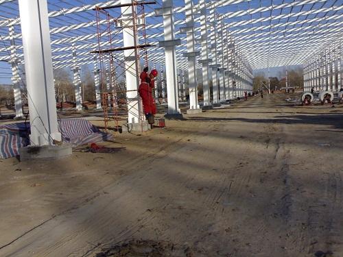 供应钢结构厂房仓库钢结构设计