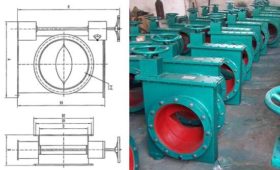 专业生产插板式单芯可调缩孔