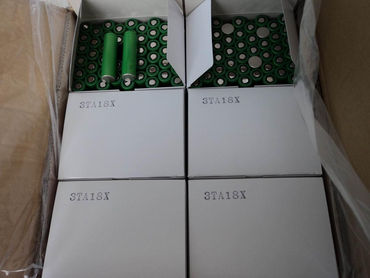 供应原包装索尼2600mah18650锂电池图片