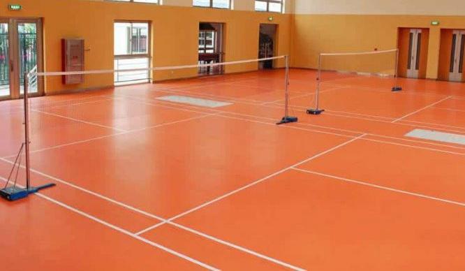 供应羽毛球胶地板室内羽毛球地板 羽毛球运动地板