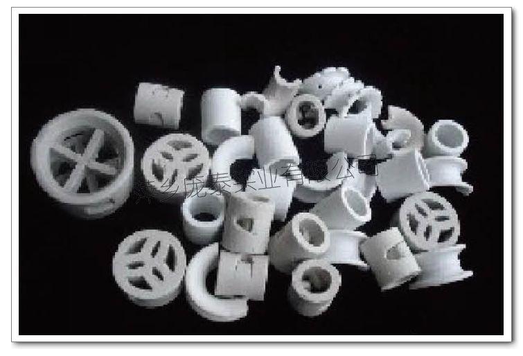 供应耐酸瓷环填料图片