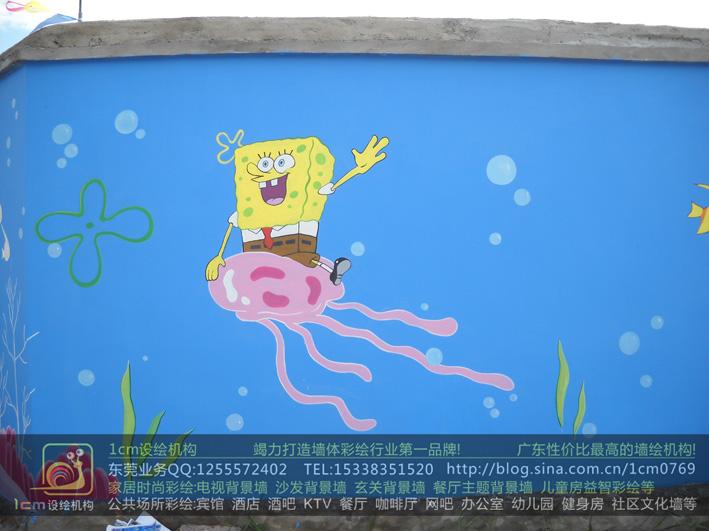 供应东莞幼儿园彩绘和东莞幼儿园墙绘图片