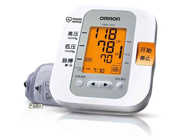 欧姆龙血压计7201图片