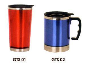汽车杯啤酒杯内不锈钢杯广告杯图片