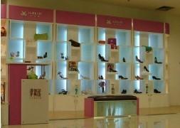 供应江苏南京箱包鞋帽展柜设计