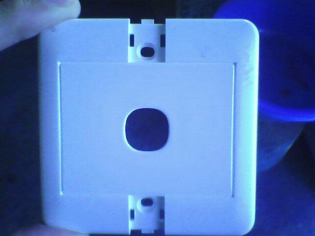 供应PC电灯开关外壳图片