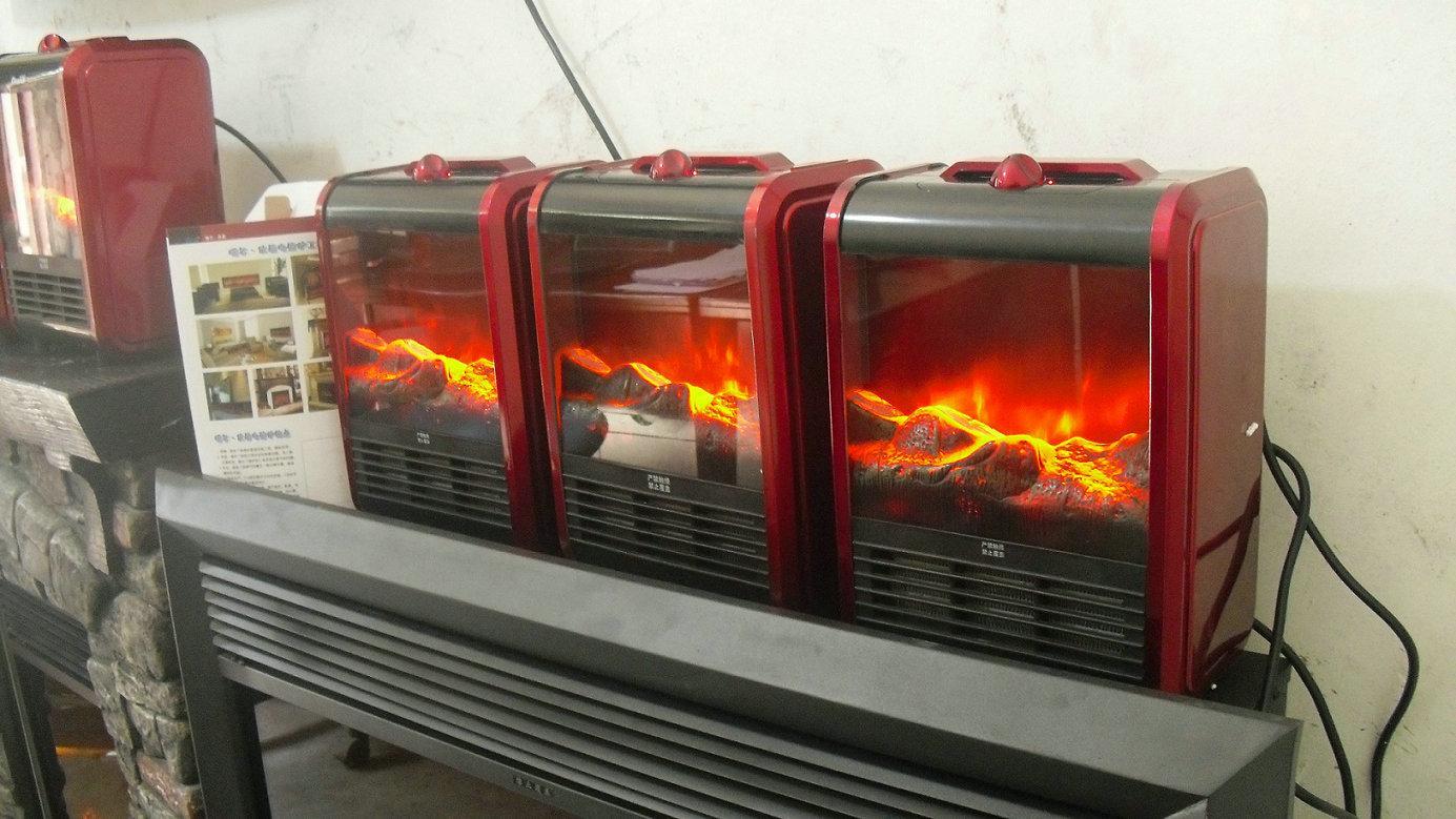 供应专利产品伏羲小旋风台式壁炉取暖器