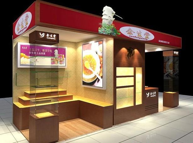 江苏南京烟酒食品柜台展柜设计制作报价