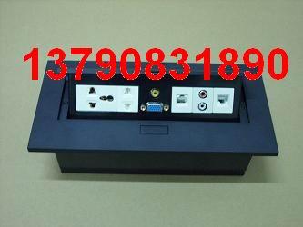 供应不锈钢桌面插座铝合金桌面插座按压式桌面插座弹起式桌面插座