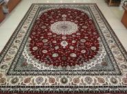 真丝地毯真丝手工地毯手工真丝图片