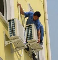 广州空调维修图片
