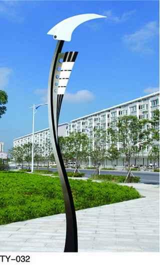 供应安康太阳能路灯led庭院灯图片