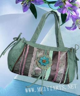 工艺包布包时尚包休闲包单肩斜跨布包b169