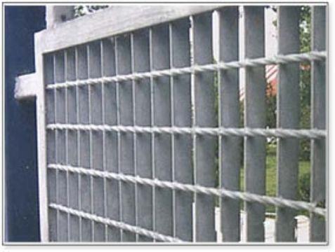 供应河间钢格板围栏