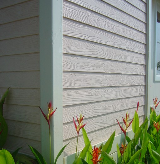 仿木纹水泥板檐口线图片