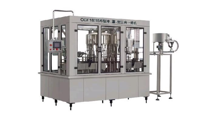 供应纯净水灌装机CGF系列瓶装饮用水灌装机批发
