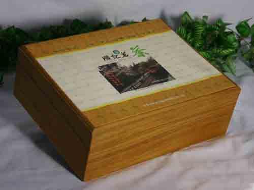 供应木制茶叶包装盒,高光茶叶木盒