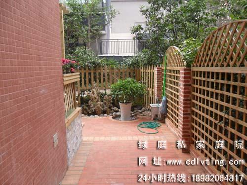 供應成都綠庭私家花園景觀設計公司