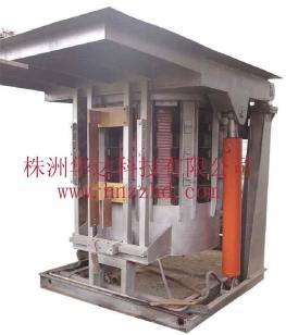 3t中频钢壳炉钢壳中频熔炼图片