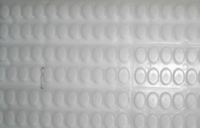 供应香港白色硅胶脚垫