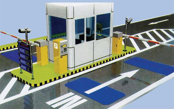 供应东营停车场系统门禁系统刷卡机道闸图片