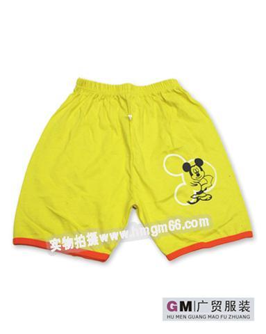 儿童夏季短裤图片|儿童夏季短裤样板图|儿童夏季短裤